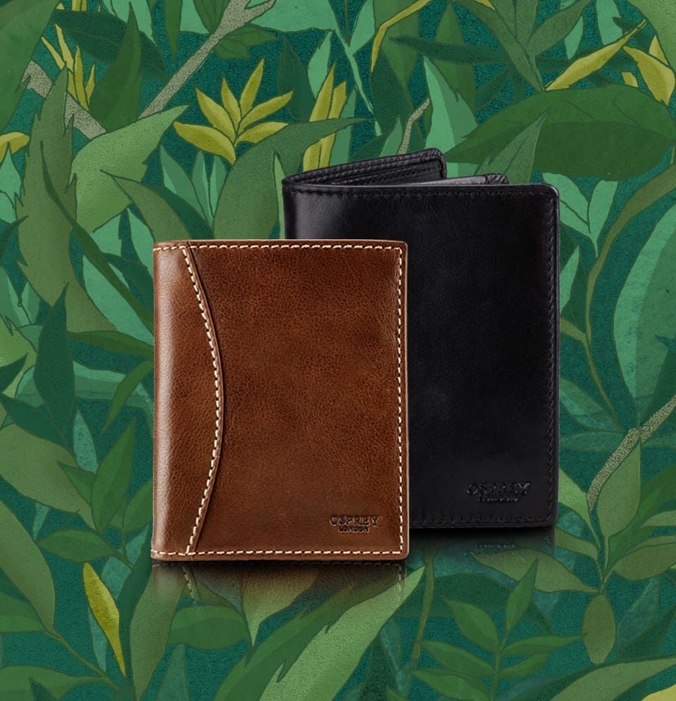 5977a77881db Men's Leather Wallets | OSPREY LONDON