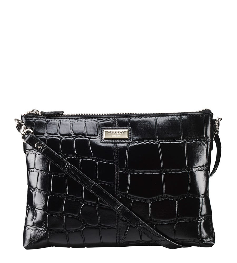 An image of The Amalia Leather Clutch
