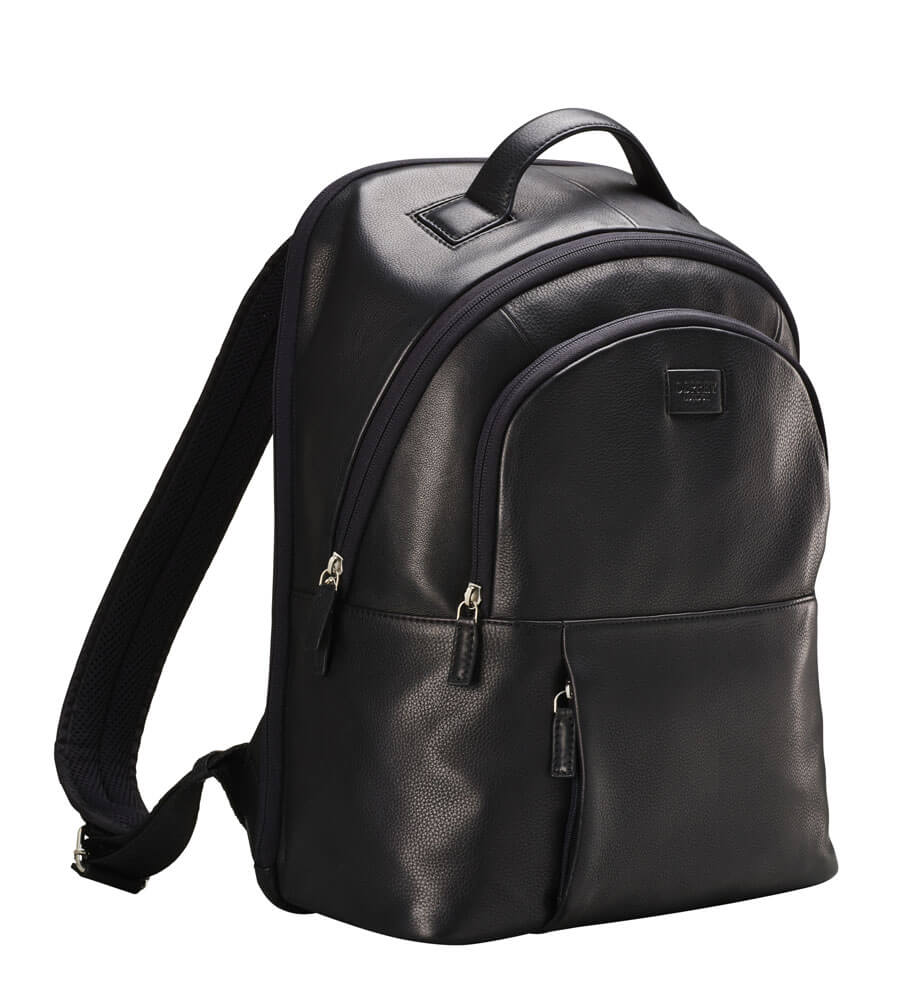 An image of The Premium Baltimore Leather Backpack