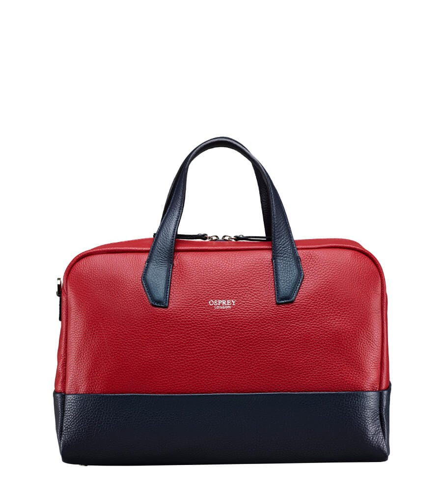 An image of The Biarritz Italian Leather Cabin Bag