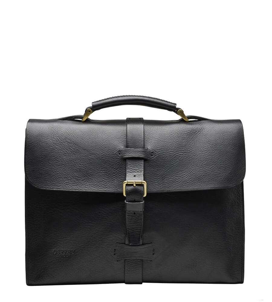 An image of The Lepping Italian Leather Briefcase