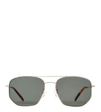 Bluesky Navagio Gold Sunglasses | OSPREY LONDON