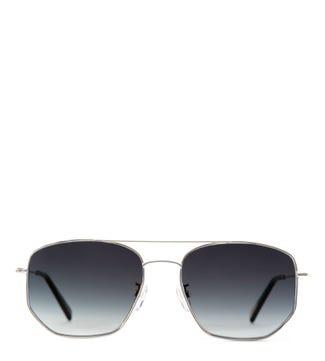 Bluesky Navagio Silver Sunglasses | OSPREY LONDON