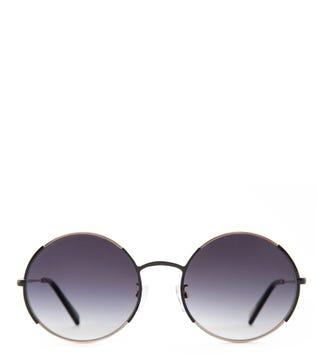 Bluesky Ora Gold Sunglasses  | OSPREY LONDON