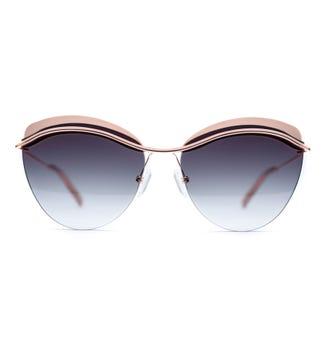 Skye Sunglasses in sunrise pink | OSPREY LONDON