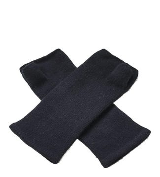 Cashmere Wristwarmers in black