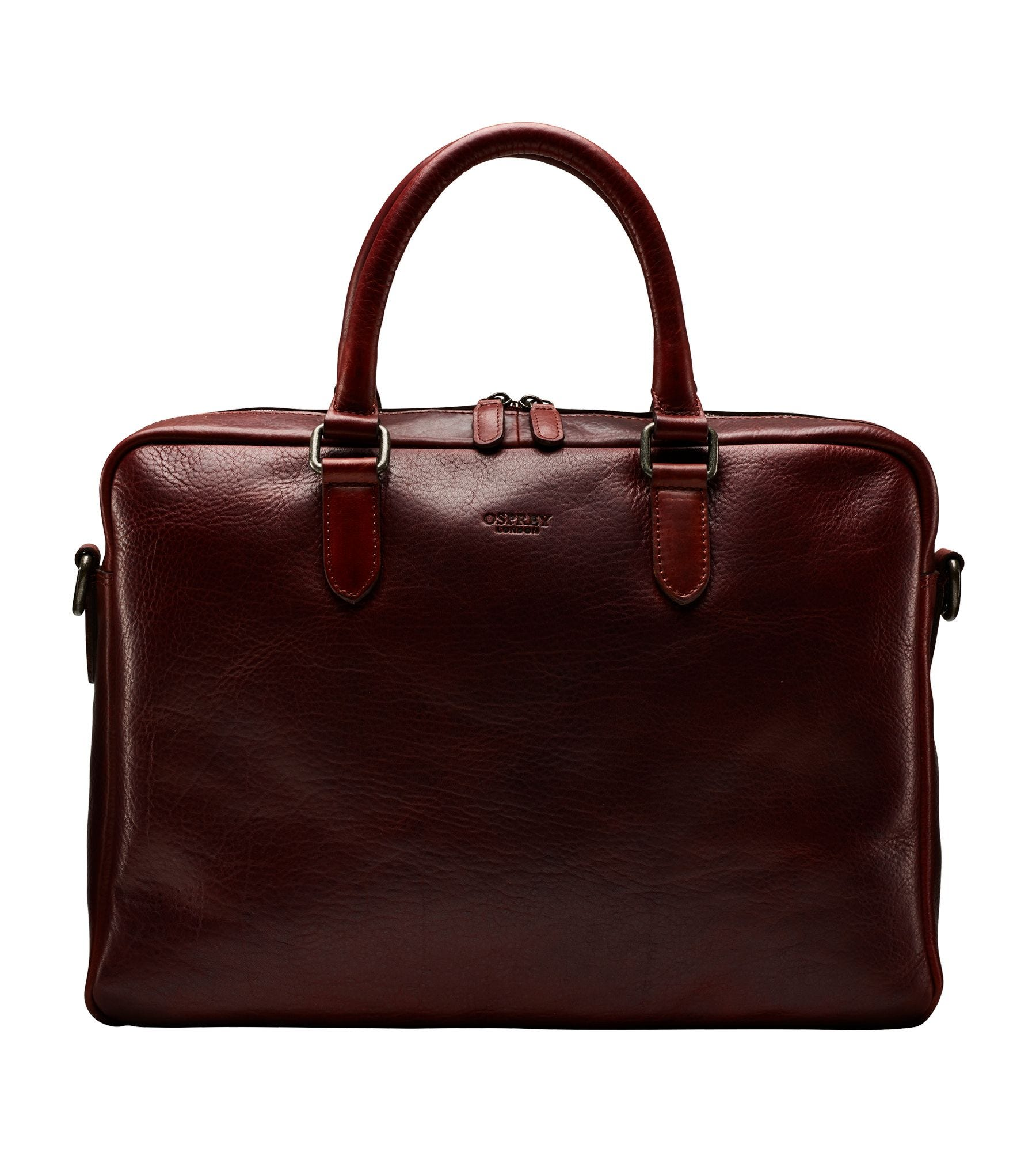 The Hector Leather Laptop Bag