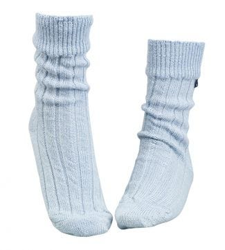 OSPREY LONDON Baby Blue Lounge Socks.