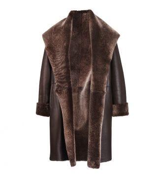 OSPREY LONDON   Women   The Alex Sheepskin Coat