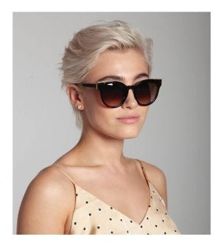 The Atoll Sunglasses in chocolate tortoiseshell