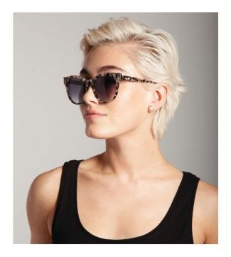 OSPREY LONDON | WOMEN | The Atoll Light Sunglasses