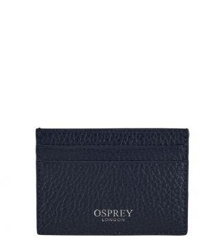 The Daria Leather Cardholder in midnight blue | OSPREY LONDON