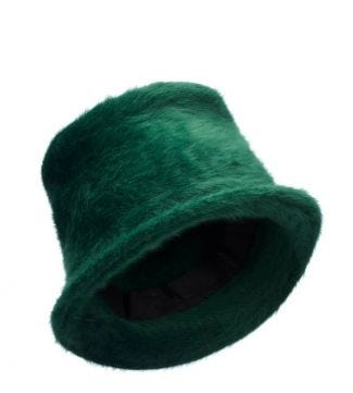OSPREY LONDON | The Fagin Hat Forest Green