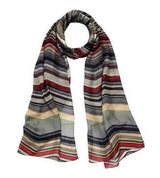 OSPREY LONDON | The Kasbah Scarf grey