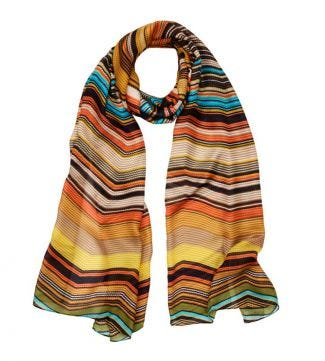 OSPREY LONDON | The Kasbah Scarf mustard