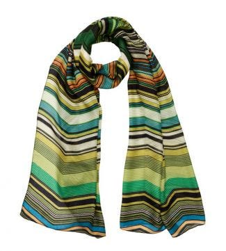 OSPREY LONDON | The Kasbah Scarf green