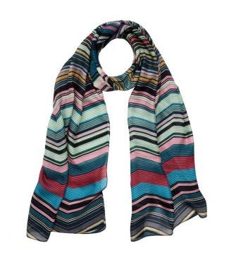 OSPREY LONDON | The Kasbah Scarf teal