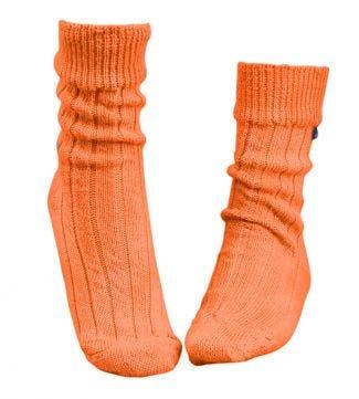 OSPREY LONDON | Women | Lounge Socks Rust