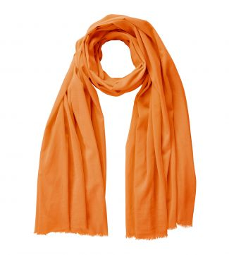 The Rainbow Cotton 3-in-1 Wrap in orange