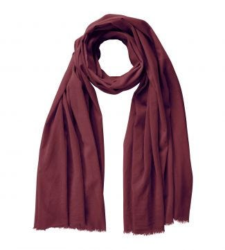 The Rainbow Cotton 3-in-1 Wrap in maroon