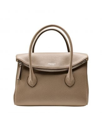 The Carina Italian Leather Organiser Grab in malt | OSPREY LONDON