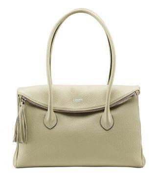 The Carina Italian Leather Workbag in butterscotch |OSPREY LONDON