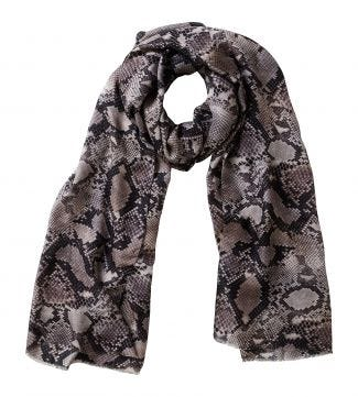 The Python Scarf grey