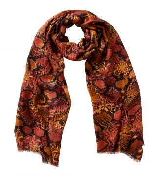 The Python Scarf orange