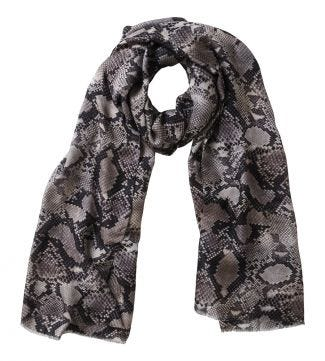 The Python Scarf grey | OSPREY LONDON