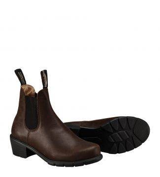 Blundstone Boots 1673 in antique brown leather