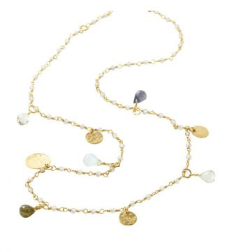The Short Estrella 18ct Gold Vermeil Necklace