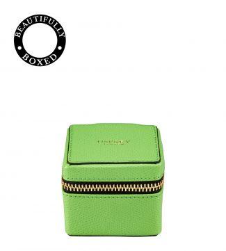 The Rainbow Cube Leather Trinket Box