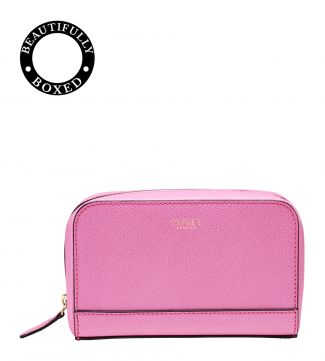The Rainbow Leather Vanity in pink