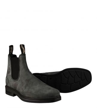 Blundstone Boots #1308 in rustic black leather | OSPREY LONDON