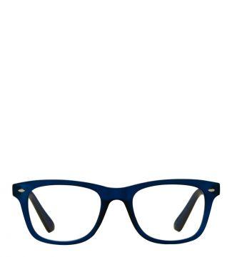 The Fitzgerald Reading Glasses in matte dark blue