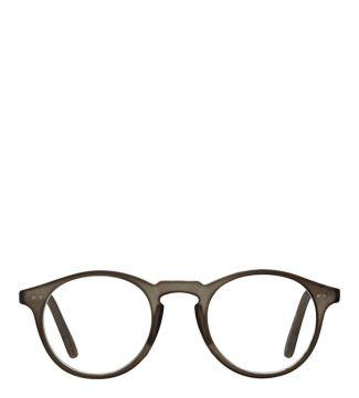 The Hemingway Reading Glasses in matte dark grey