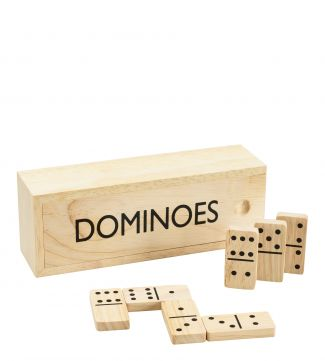 Luxury Wooden Domino Set | OSPREY LONDON
