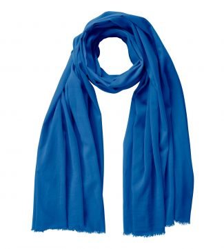 The Rainbow Cotton 3-in-1 Wrap in cobalt | OSPREY LONDON