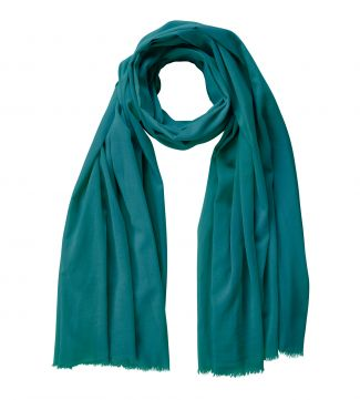 The Rainbow Cotton 3-in-1 Wrap in teal