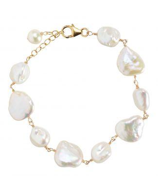 The Baroque Pearl Bracelet | OSPREY LONDON