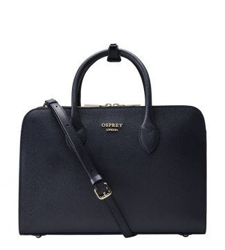 The Correspondent Workbag in navy blue