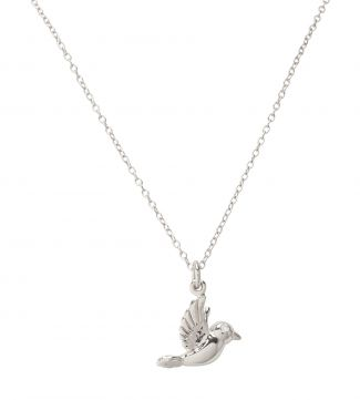 The Heavenly Dove Sterling Silver Necklace | OSPREY LONDON