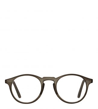 The Hemingway Reading Glasses in matte dark grey | OSPREY LONDON