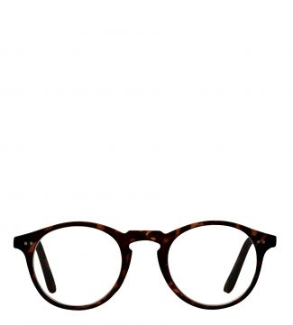 The Hemingway Reading Glasses in matte dark chocolate tortoiseshell | OSPREY LONDON