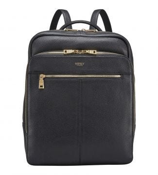 The Langdale Leather Backpack in black | OSPREY LONDON
