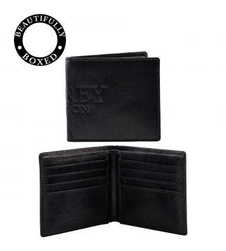 The Osprey Leather Billfold Wallet in navy | OSPREY LONDON