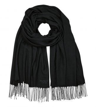 The Rainbow Wrap in black | OSPREY LONDON