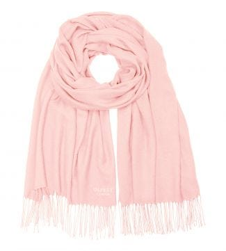 The Rainbow Wrap in blush | OSPREY LONDON