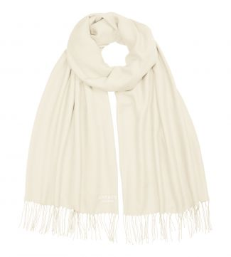 The Rainbow Wrap in cream | OSPREY LONDON