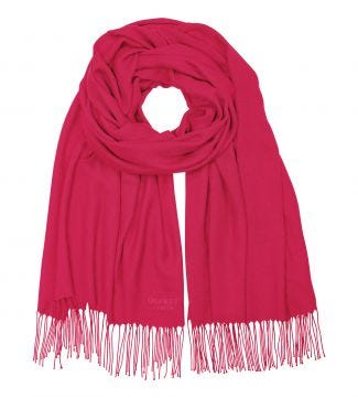 The Rainbow Wrap in fuchsia | OSPREY LONDON